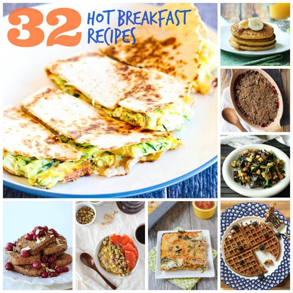 32 Hot Breakfast Recipes