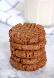 Brown Sugar-Cinnamon PB Cookies