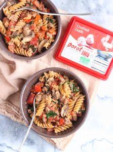 Garlicky Ricotta Pasta