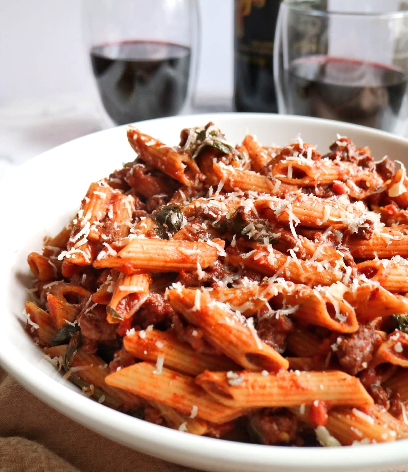 Healthier Weeknight Bolognese » The Nutrition Adventure