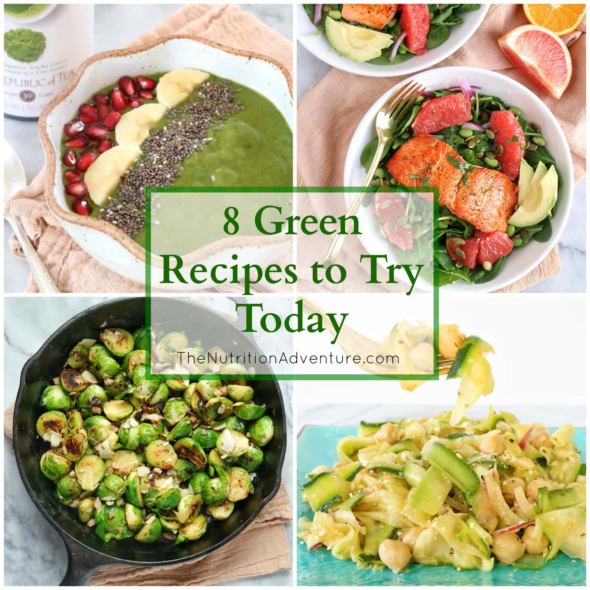 Eating Green + 8 Green Recipes To Try Today » The